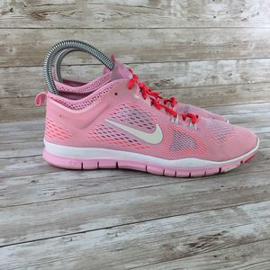 Nike Shoes - Nike 5.0 TR Fit 4 Womens 8 Pink White